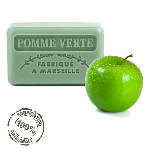 Frenchsoaps Green Apple Soap Front View