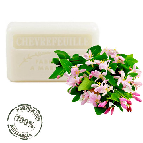 Frenchsoaps Honeysuckle Soap Front View
