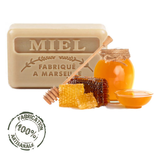 Frenchsoaps Honey Soap Front View