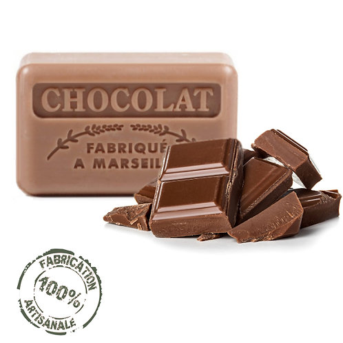 French Soaps Chocolate Front View