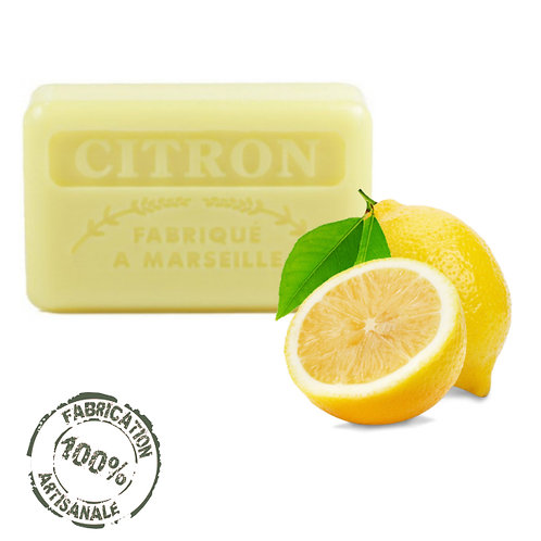 Frenchsoaps Lemon Soap Front View