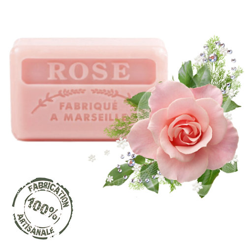 Frenchsoaps Rose Soap Front View