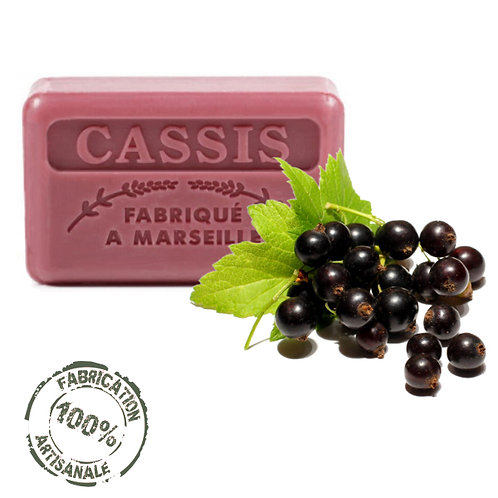 Frenchsoaps Blackcurrant Front View