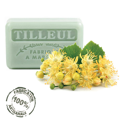 Frenchsoaps Lime Blossom Soap Front View