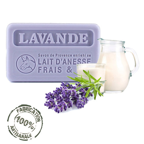 Frenchsoaps Lavender Donkey Milk Soap Front View
