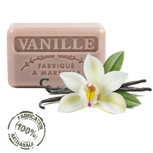 Frenchsoaps Vanilla Soap Front View