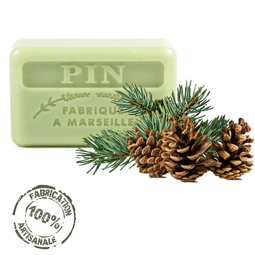 Frenchsoaps Pine Soap Front View