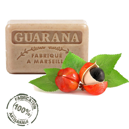 Frenchsoaps Guarana Exfoliating Soap Front View