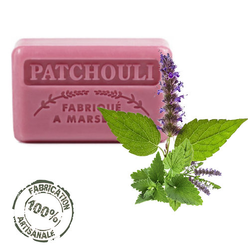 Frenchsoaps Patchouli Soap Front View
