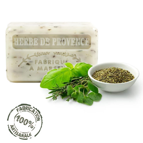 Frenchsoaps Herbs de Provence Exfoliating Soap Front View