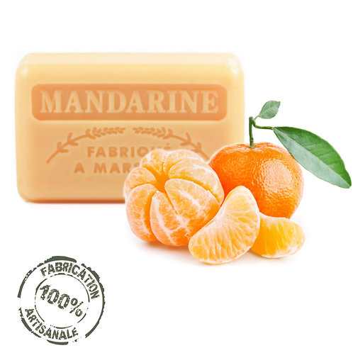Frenchsoaps Mandarine Soap Front View