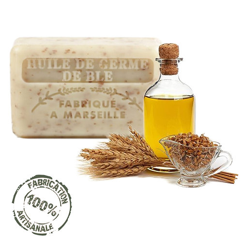 Frenchsoaps Wheatgerm Oil Exfoliating Soap Front View
