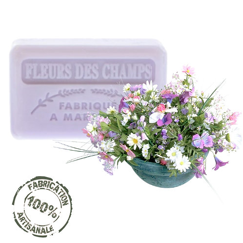 Frenchsoaps Wild Flowers Soap Front View