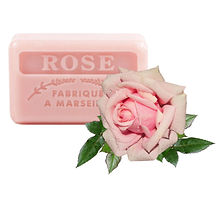 rose scented french soap