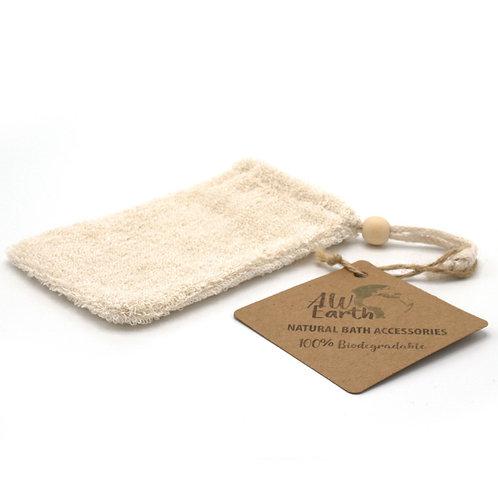 Natural Rami Soap Bag