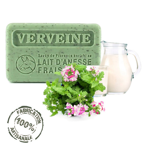 Frenchsoaps Verbena Donkey Milk Soap Front View