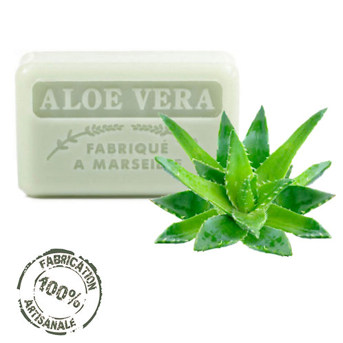 Frenchsoaps Aloe Vera Front View