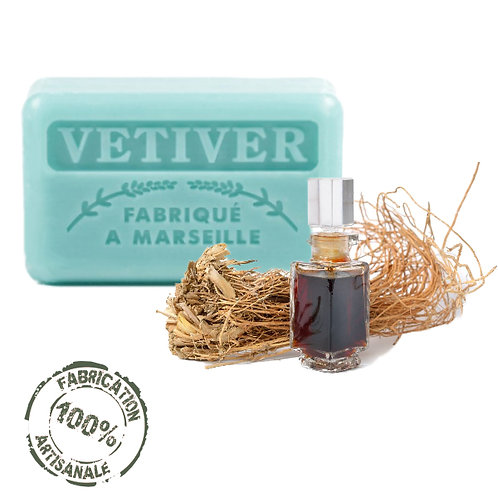 Frenchsoaps Vetiver Soap Front View