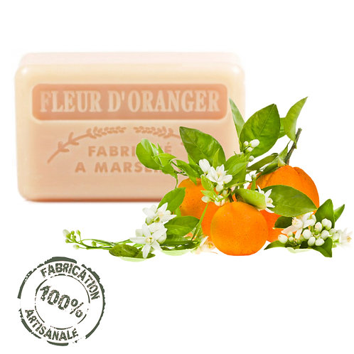 Frenchsoaps Orange Blossom Soap Front View