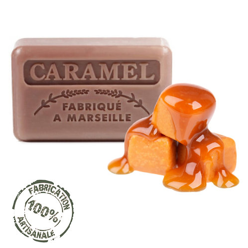 Frenchsoaps Caramel Front View