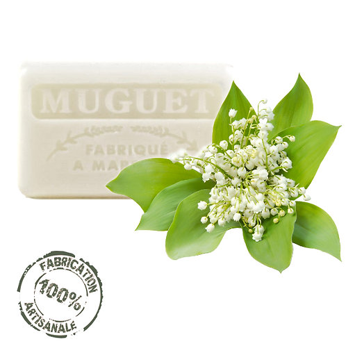 Frenchsoaps Lily of the Valley Soap Front View