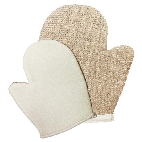 French Soap Jute Mix Mitt