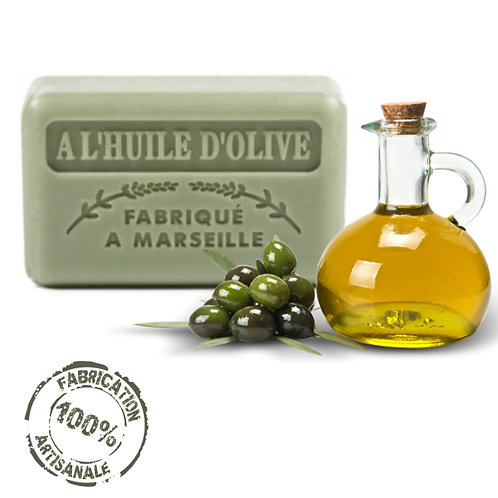 Frenchsoaps Olive Oil Soap Front View