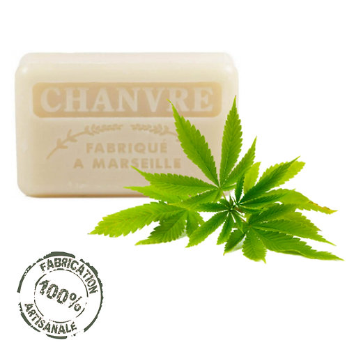 Frenchsoaps Hemp Soap Front View