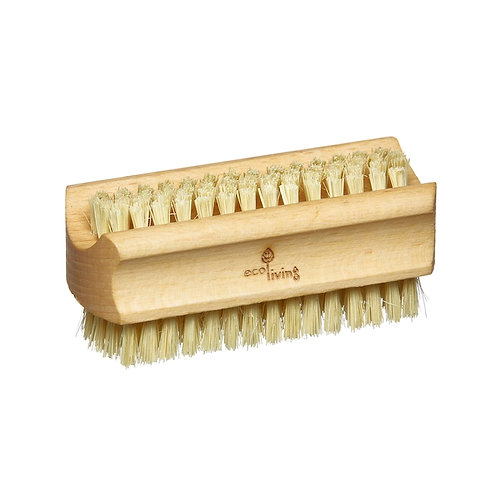 French Soap Natural Nail Brush Side View