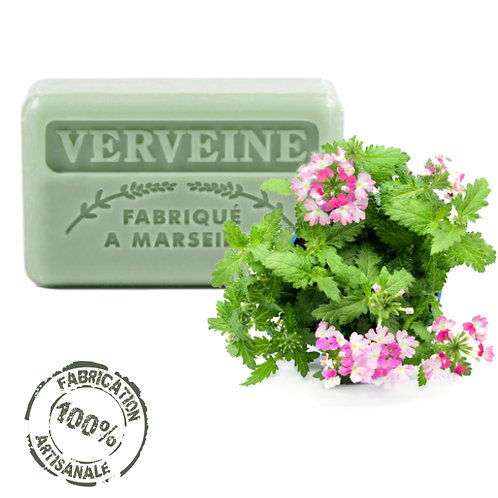 Frenchsoaps Verbena Soap Front View
