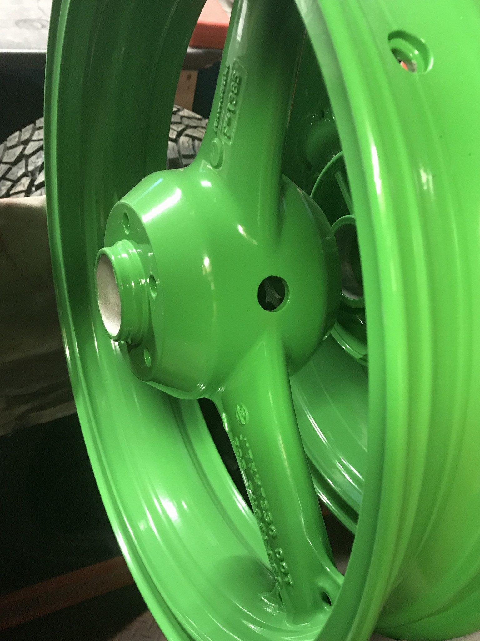 Wheels Powder Coating