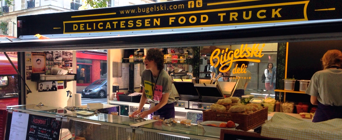 Food Truck em Paris, 2015