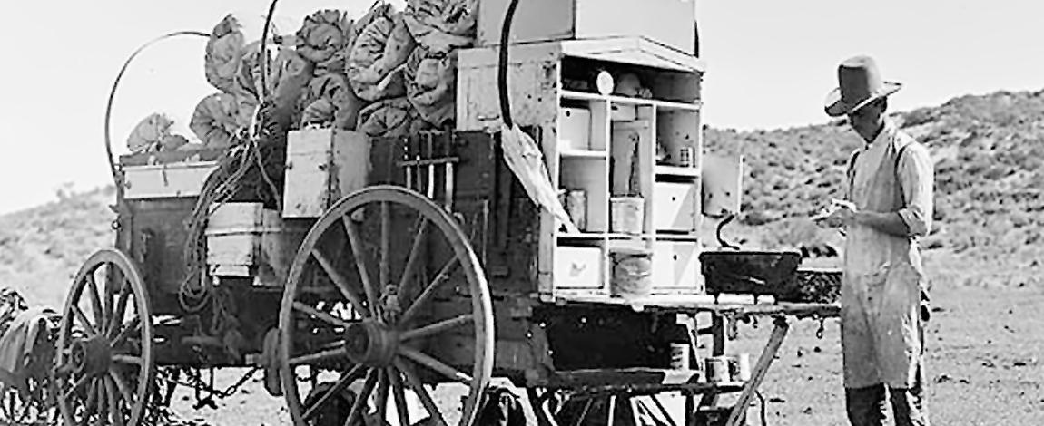 Food Truck, século 17