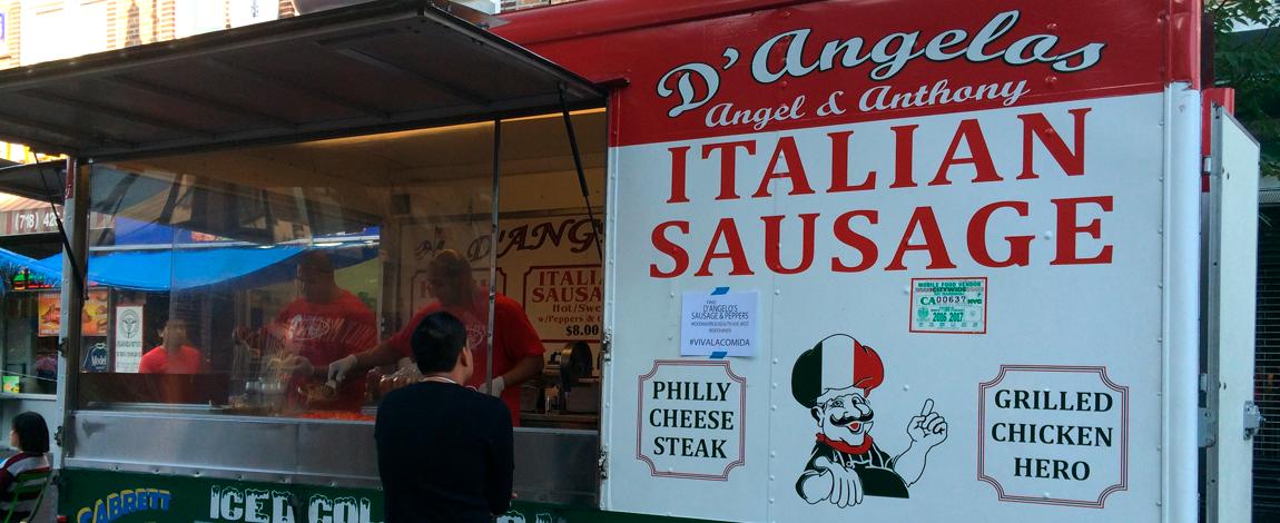 Food Truck em Nova York, 2013