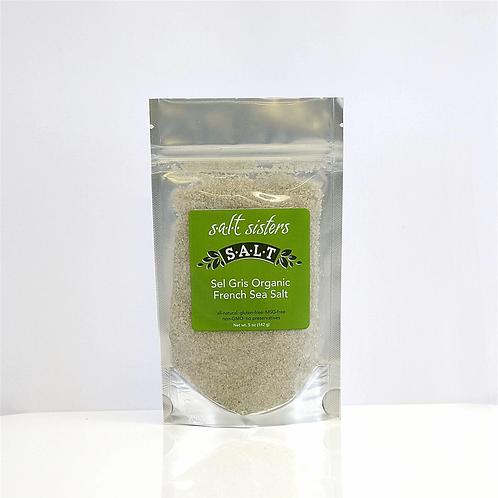 Salt Sel Gris Certified Organic French Sea Salt 5 oz