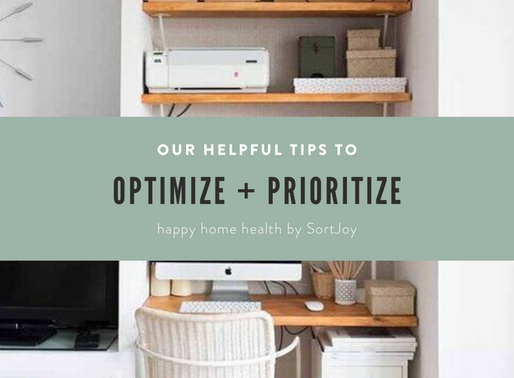 Optimize and Prioritize