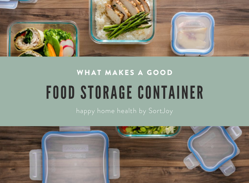 What Makes a Good Food Storage Container