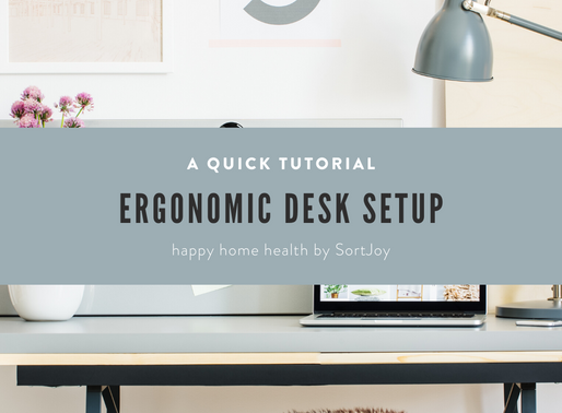Creating an Ergonomic Desk Setup