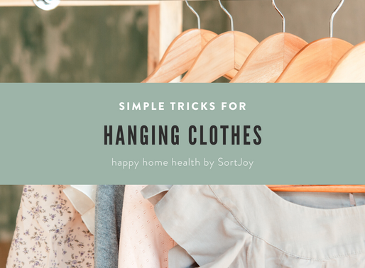 Simple Tricks for Hanging Clothes