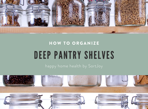 Utilizing Deep Pantry Shelves