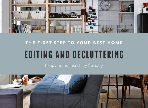 Intro to Editing and Decluttering