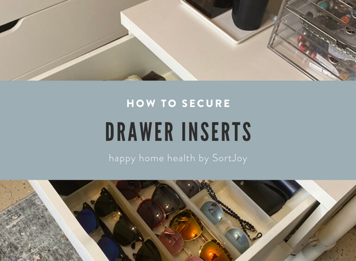 Securing Those Drawer Inserts