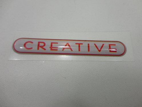 Emblema Creative ( Resinado) Punto 13/ Fase 1