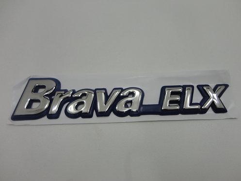 Emblema Brava Elx (azul/ Cromado)