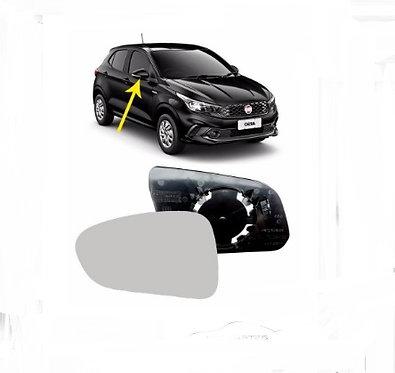 Espelho Retrovisor Esquerdo Com Base Fiat Argo Tds