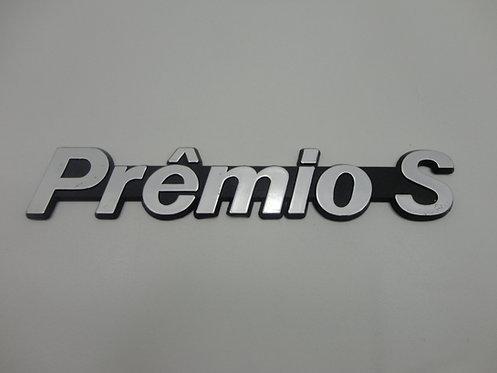 Emblema Premio S ( Preto/ Cinza )