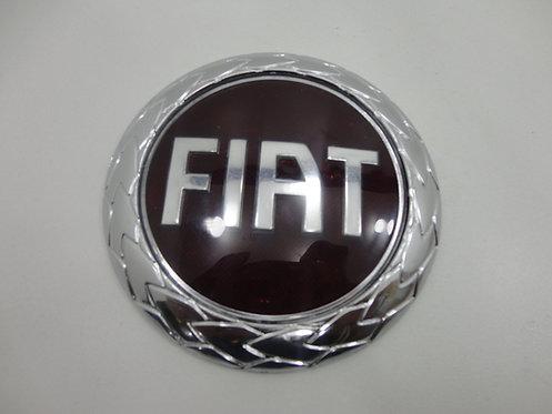 Emblema Fiat ( Vermelho) (redondo) Siena 04/ Ducato