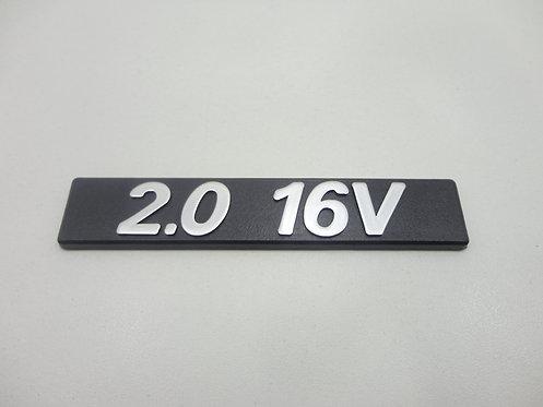 Emblema 2.0 16v ( Preto/ Cinza) Tempra