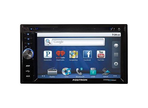 DVD Central Multimídia Automotiva Positron 6 SP8990 Smart