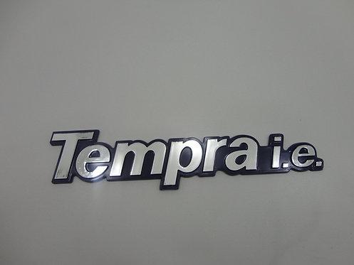 Emblema Tempra I.e ( Azul / Cromado )